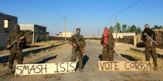 These British volunteers fighting against Isis in Syria want you to vote for Jeremy Corbyn