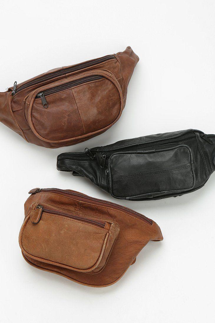 Urban Renewal Vintage Leather Belt Bag - Urban Outfitters