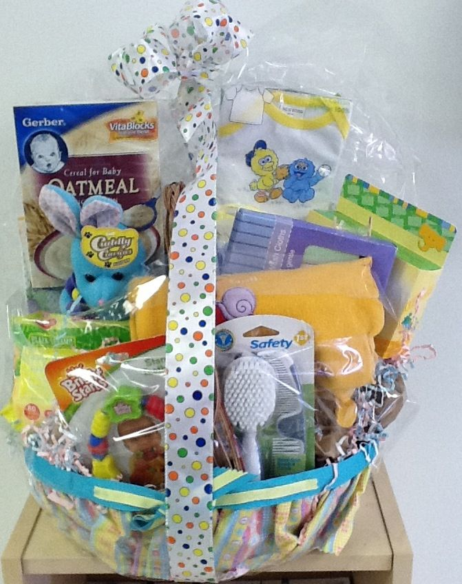 Baby Shower Gift Baskets | Baby Shower Gift Basket - Wildflour Caterers