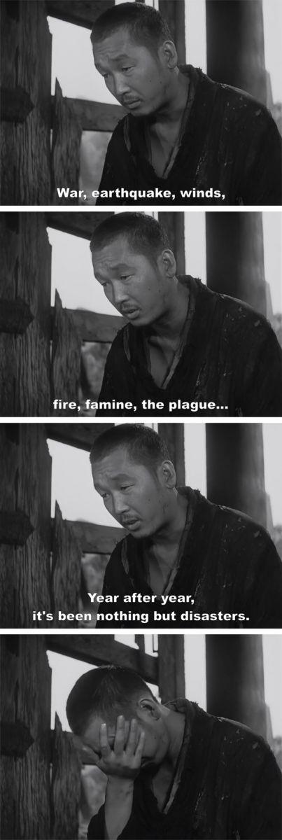 Rashomon by Akira Kurosawa, 1950