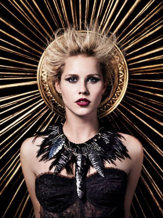"""Claire Holt play's Original vampire Rebekah Mikaelson in """"The Vampire Diaries""""."""