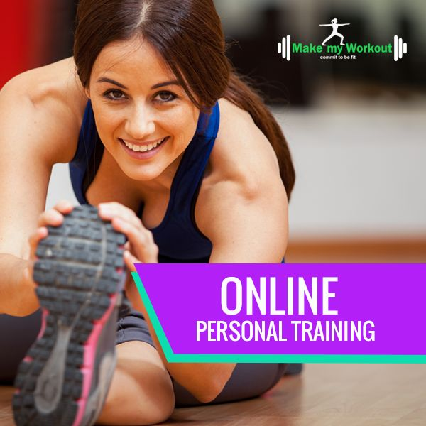 Online personal training, customized workouts, fitness training online