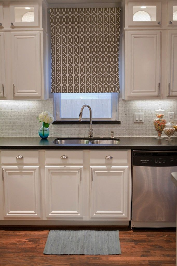 Complete Kitchen Transformation; White Cabinets