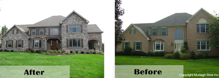 Home Exterior Renovation Before And After 17 best images about turn your house into a home on pinterest