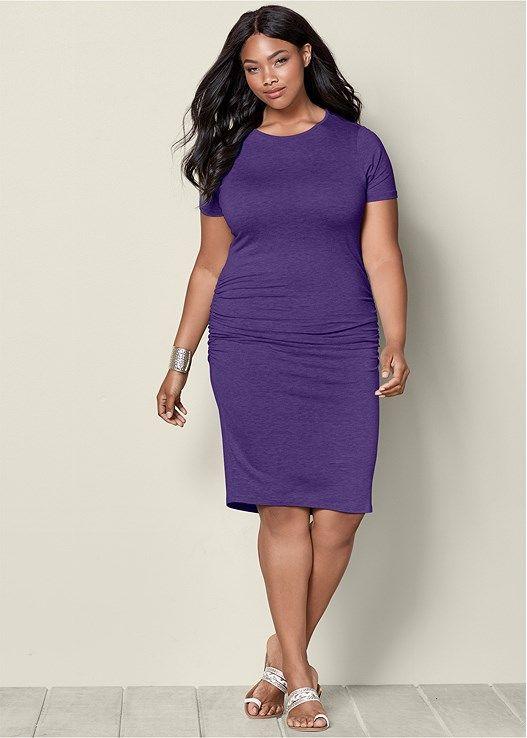 Venus Purple Dress