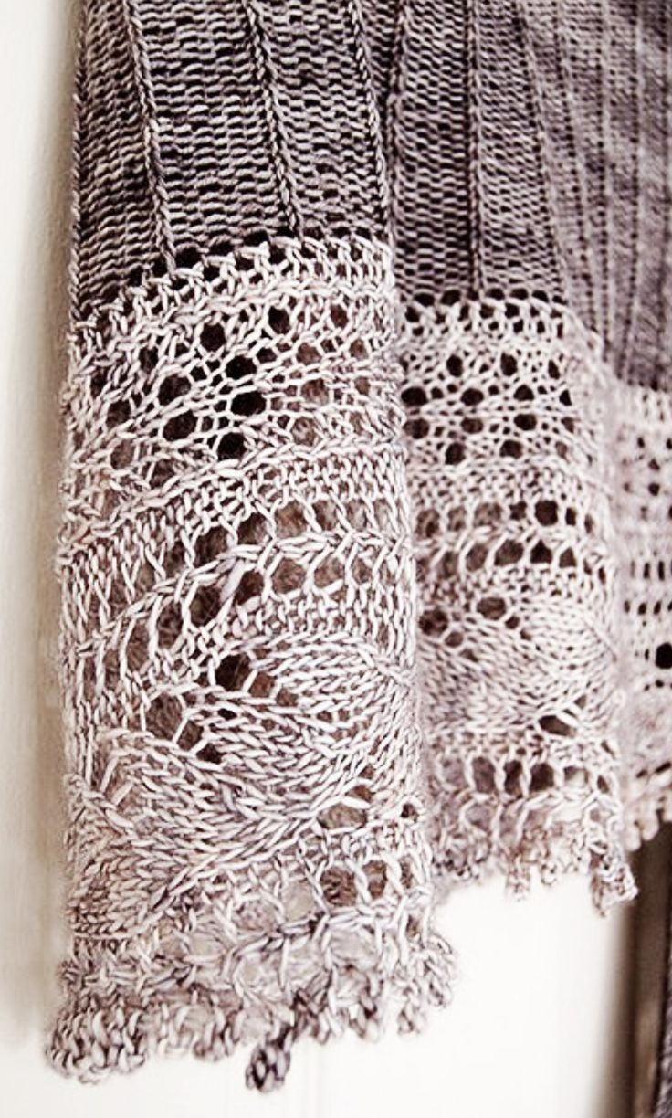 Knitting Lace Border : Images about knitted edges on pinterest knitting