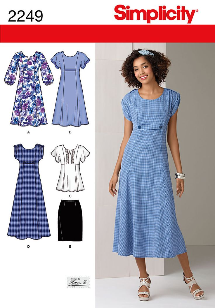 Free Shipping on orders over $35. Buy Simplicity Pattern Misses' Dresses, (10, 12, 14, 16, 18) at Walmart.com