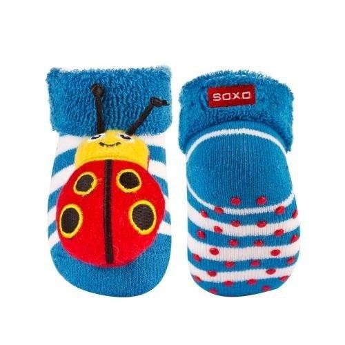 SOXO Infant socks with rattle PREMIUM | BABIES  Socks | SOXO socks, slippers, ballerina, tights online shop