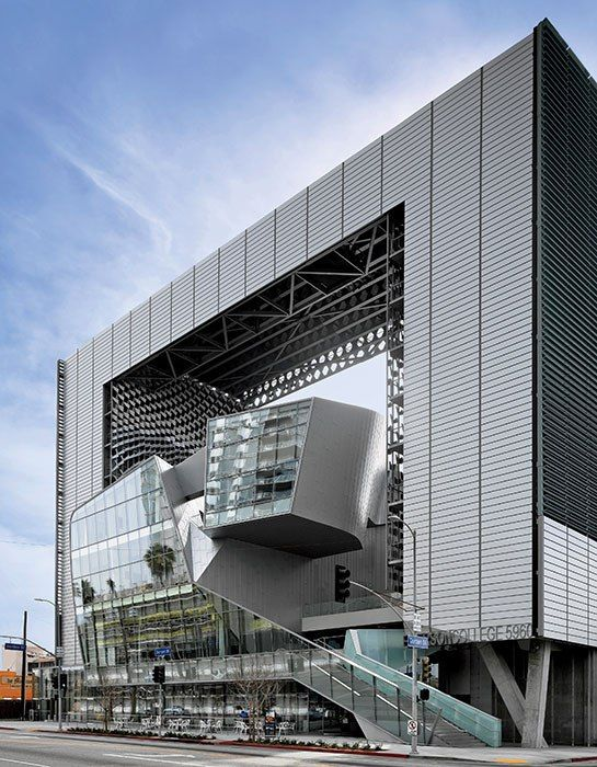 Morphosis Crafts A Striking New College Campus in Los Angeles