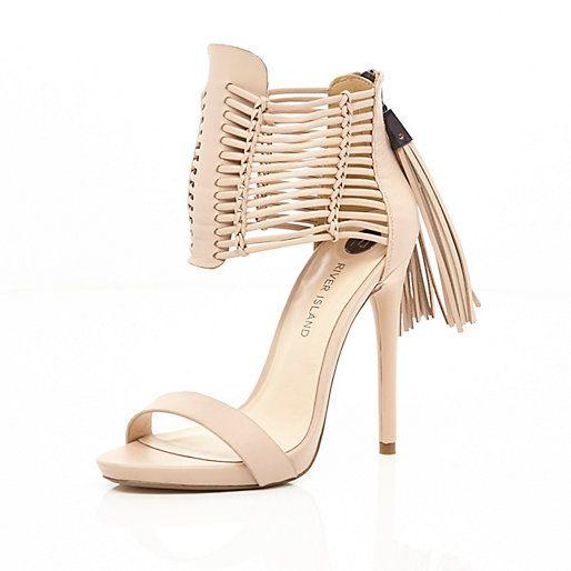 River Island Wide FitHigh heeled sandals - pink light emv1MKT