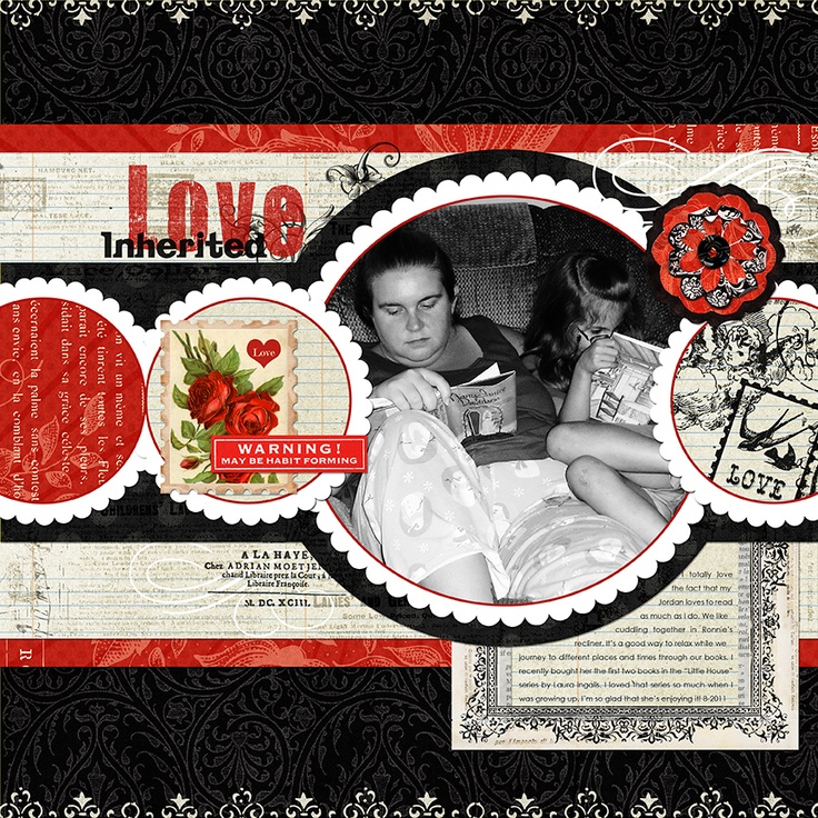 Inherited Love (Jessica Sprague/Jodie Lee) - Scrapbook.com. Digital
