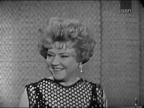 What's My Line? - Ethel Merman; Allen Ludden [panel] (Oct 27, 1963) - YouTube