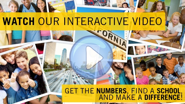 Interactive video for Our children, Our Future. Get the numbers, fin a school and make a difference.