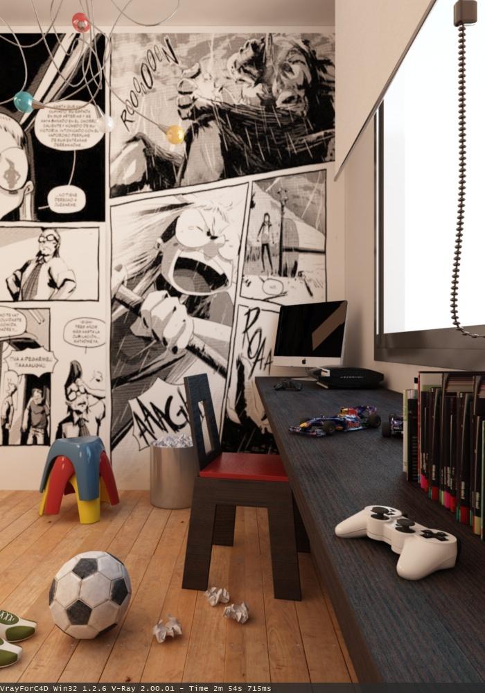 *children's rooms, toddlers', fun wallpaper*