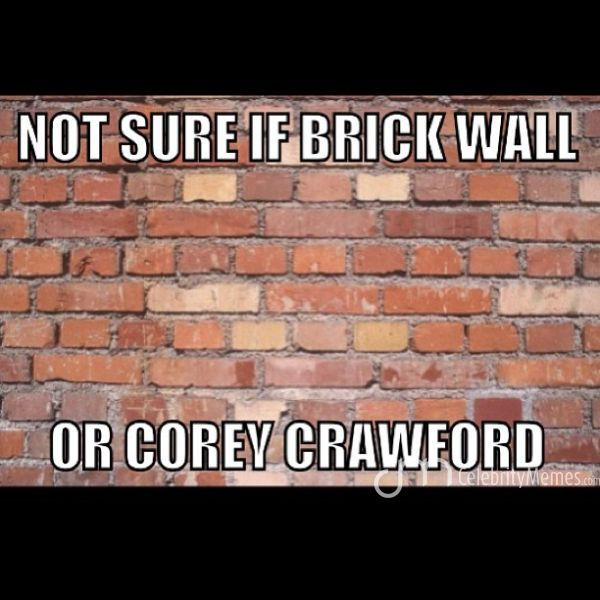 Corey Crawford had an amazing