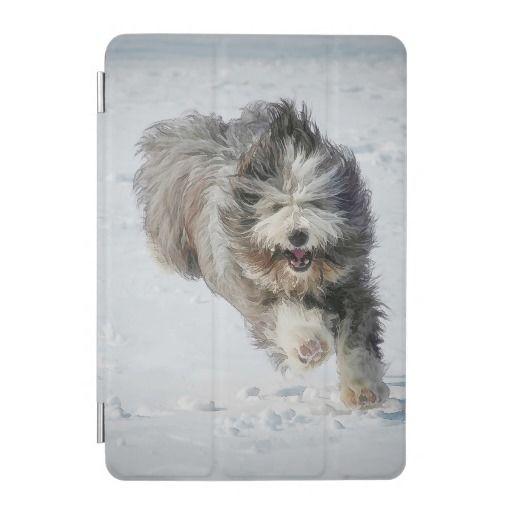 Bearded collie iPad mini Cover.