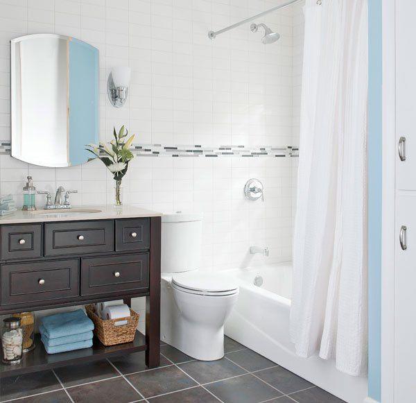 Nice Small Bathrooms: 1000+ Ideas About Light Blue Bathrooms On Pinterest