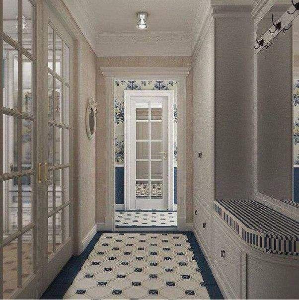 احدث ديكورات مدخل المنزل Carpets Of Tiles In Vestibules Decoration Interieur Vestibule Tiles Home