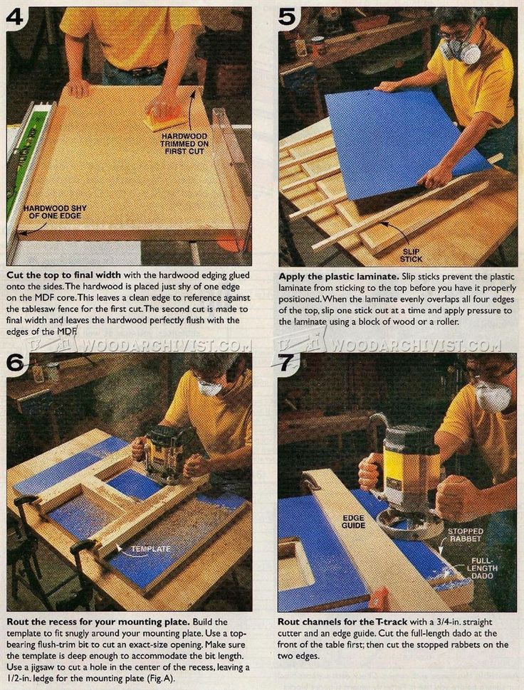 Homemade Router Table - Router