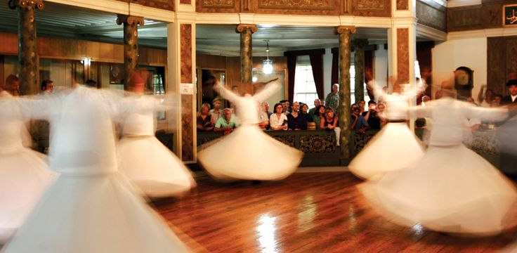 Sights In Istanbul –Whirling Dervishes. Hg2Istanbul.com.