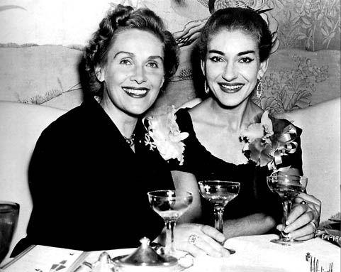 Elisabeth Schwarzkopf and Maria Callas