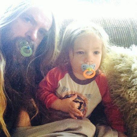 Zakk and son Sabbath