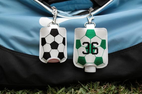 Soccer Accessories Hand Sanitizer Holder Soccer Gifts Soccer