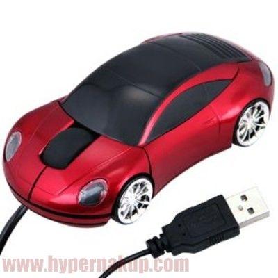 Optická počítačová myš v tvare automobilu , skvelý darček ktorý poteší dospelého ale i malého milovníka automobilov.3x farby strieborna,modra,cervenaUSB, 800DPI, OS : windows 7,w.XP,w.VISTA,w.2000
