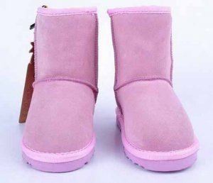 5281 Classic Pink Kids Ugg Short Boots Model: Ugg Boots 001 Save: 60% off