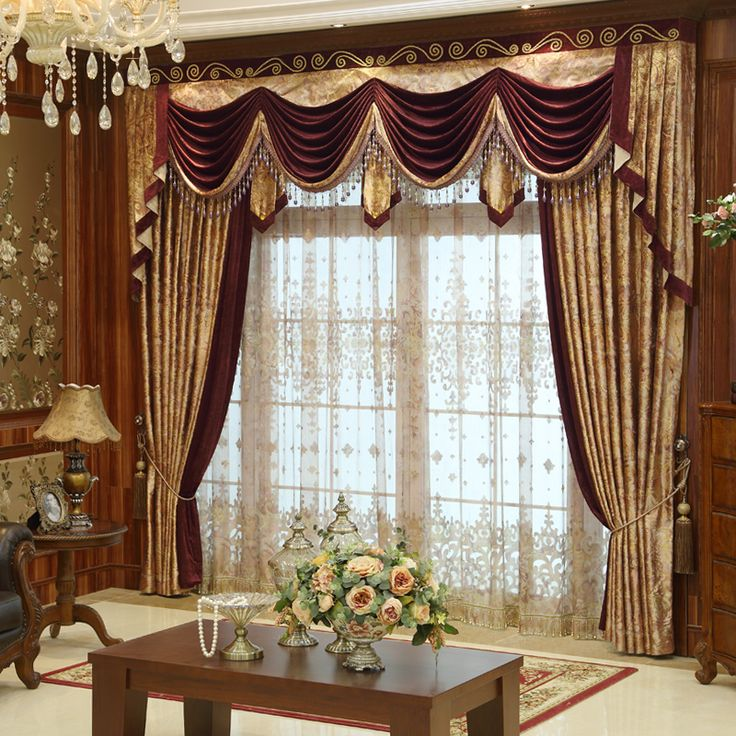 2510 best images about elegant drapery on pinterest for Elegant window curtains