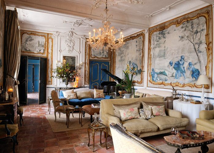 D co int rieure classique chic un ch teau d couvrir modern mansion mansion and inside - Decoratie interieure hedendaagse trend ...