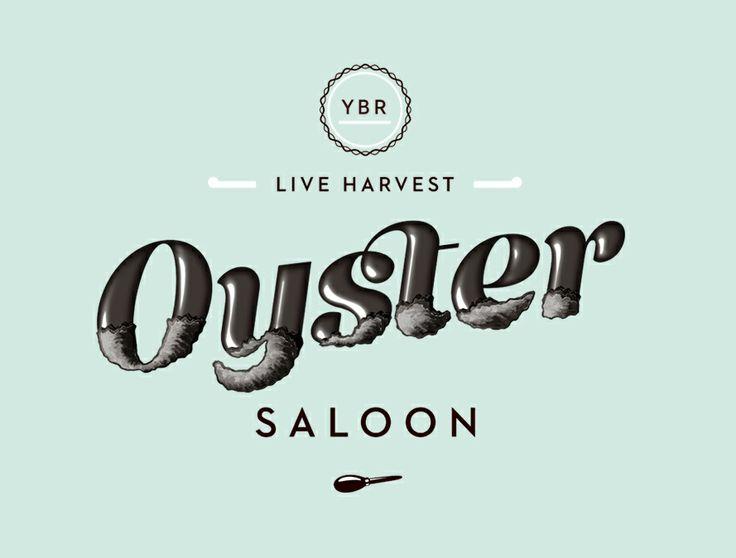 Oyster Saloon brand identity