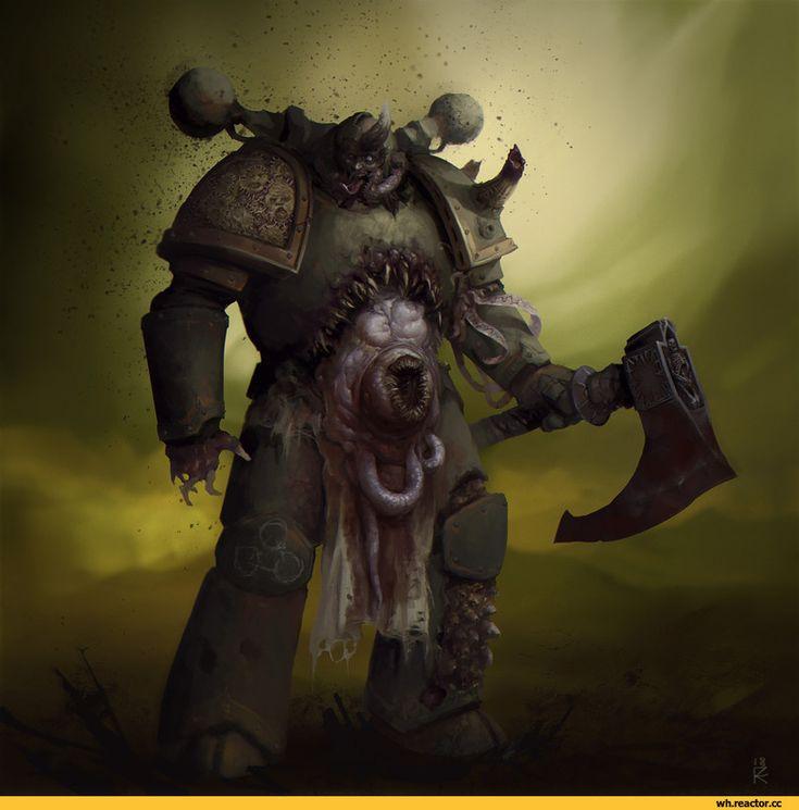 plague marine,Nurgle,Chaos (Wh 40000),Warhammer 40000,warhammer40000, warhammer40k, warhammer 40k, ваха, сорокотысячник,фэндомы,Sergey Kozyakov