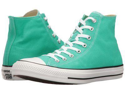 Converse - Chuck Taylor All Star Seasonal Color Hi (Menta) Lace up casual Shoes