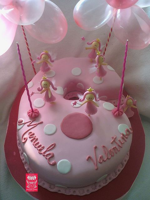 Cake Design Numbers : number 6 princess cake Cake Ideas Pinterest 6th ...