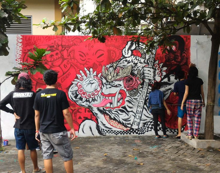 Mural Tembok Parkiran Kampus 2 UAJY