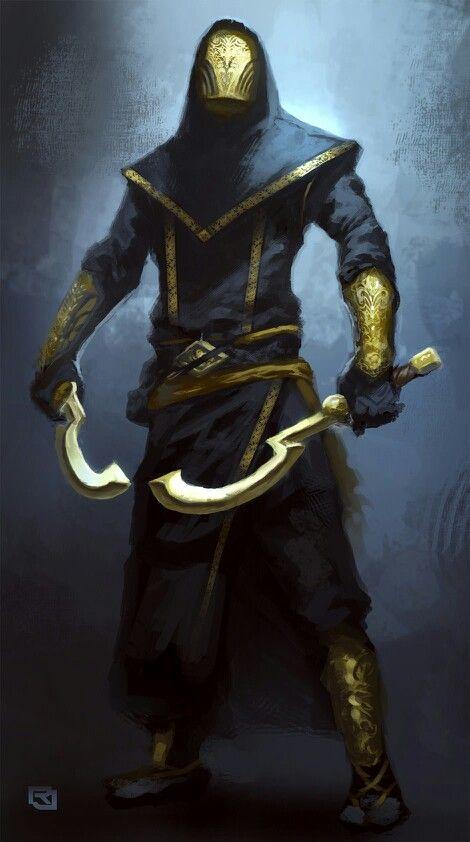 Dark Assassin concept by Rob Joseph