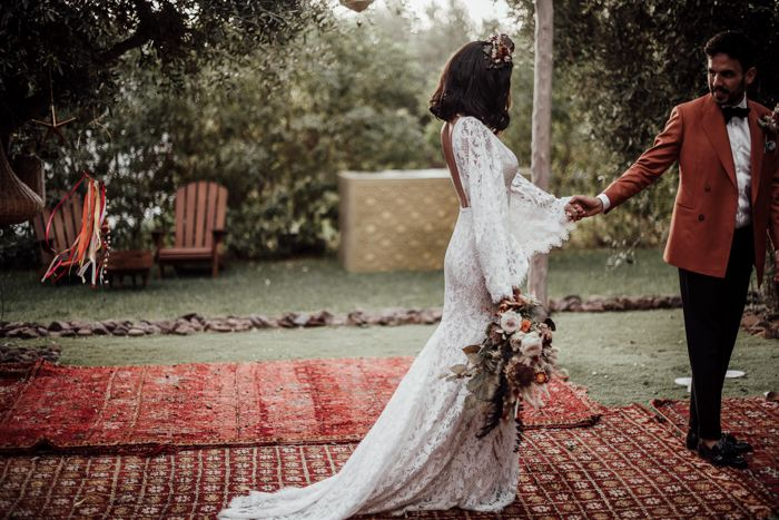 This Spectacular Moroccan Wedding At Villa Taj Marrakech Left