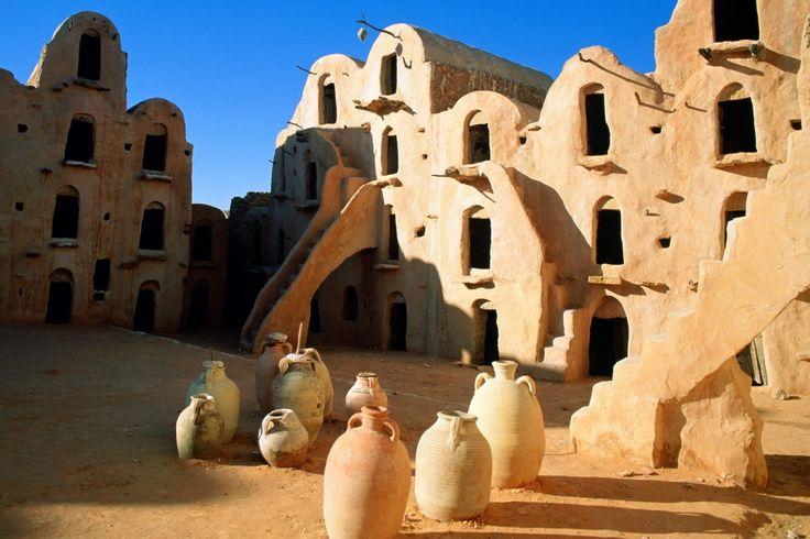 Тунис. Древнее поселение.