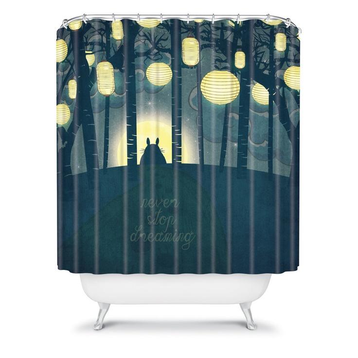 33 best shower curtains images on Pinterest | Shower curtains ...