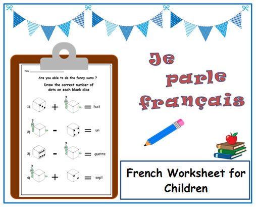 FRENCH LEARNING NUMBERS with French Printable / French for
