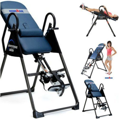 Inversion-Tables-For-Back-Pain-Relief-Therapy-Fitness-Workout-4000-Treatment-New
