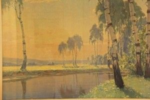 Alexander Wiinwright,very early in his career developed a very special technique with which he could infuse the canvas with a magically divine light http://maryemartintrilogies.com