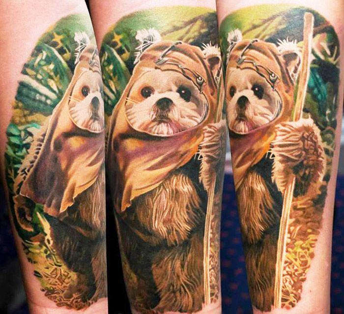 Realistic Movies Tattoo by Gunnar V Tattoo | Tattoo No. 12866