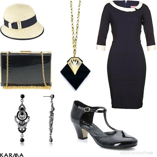 1930's inspired | Women's Outfit | ASOS Fashion Finder