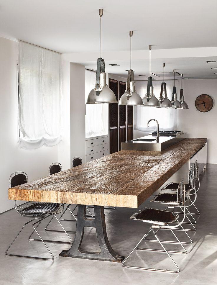 M s de 25 ideas incre bles sobre asador madrid en - Cocina comedor rustico ...