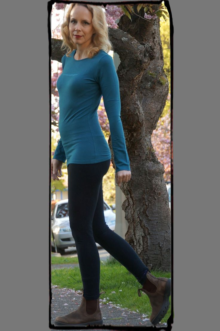 YOGA MAKES EVERYTHING BETTER.  Deep Teal Bamboo Long Sleeve Tee with Yoga Makes Everything Better. From Squeezed Yoga Clothing. http://squeezed.ca/shop/deep-teal-bamboo-long-sleeve-tee-with-yoga-makes-everything-better