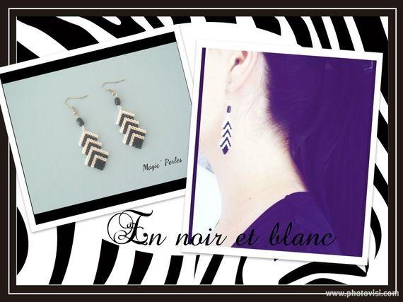 Earrings hama beads by Alice Tobbi