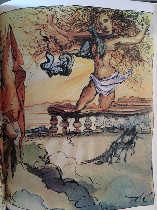 Dalì; Miguel de Cervantes de Saavreda - Il Fantastico Idalgo Don Chisciotte della Mancia. Illustrato da Salvador Dalì - 1992 - Catawiki