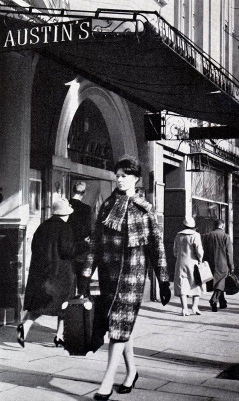 Collins Street - Melbourne Australia c1960s